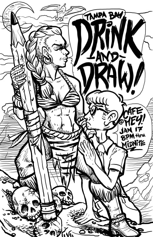 drink and draw 2014 drawing (1)